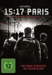 15:17 to Paris, DVD