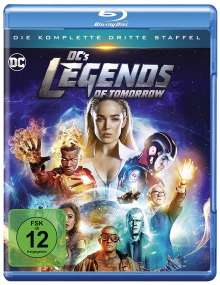 DC's Legends of Tomorrow Staffel 3 (Blu-ray), 3 Blu-ray Discs