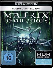 Matrix Revolutions (Ultra HD Blu-ray & Blu-ray), 1 Ultra HD Blu-ray und 1 Blu-ray Disc