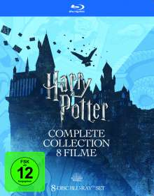 Harry Potter Complete Collection (8 Filme) (Blu-ray), 8 Blu-ray Discs