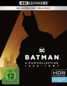Batman 1-4 (Ultra HD Blu-ray & Blu-ray), 4 Ultra HD Blu-rays und 4 Blu-ray Discs