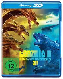 Godzilla II: King of the Monsters (3D Blu-ray), Blu-ray Disc