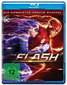 The Flash Staffel 5 (Blu-ray), 4 Blu-ray Discs
