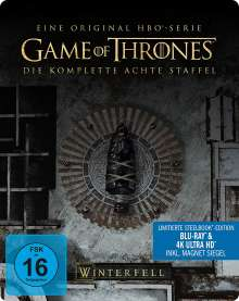 Game of Thrones Season 8 (finale Staffel) (Ultra HD Blu-ray & Blu-ray im Steelbook), 6 Ultra HD Blu-rays