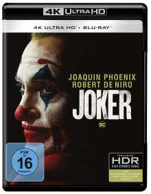 Joker (Ultra HD Blu-ray & Blu-ray), 1 Ultra HD Blu-ray und 1 Blu-ray Disc