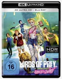 Birds of Prey - The Emancipation of Harley Quinn (Ultra HD Blu-ray & Blu-ray), 1 Ultra HD Blu-ray und 1 Blu-ray Disc