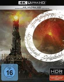 Der Herr der Ringe: Die Trilogie (Extended Edition) (Ultra HD Blu-ray), 9 Ultra HD Blu-rays