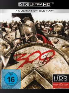 300 (Ultra HD Blu-ray & Blu-ray), 1 Ultra HD Blu-ray und 1 Blu-ray Disc