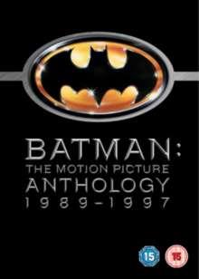 Batman - The Motion Picture Anthology 1989-1997 (UK Import), 4 DVDs