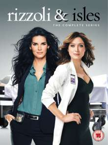 Rizzoli & Isles Season 1-7 (UK Import), 24 DVDs