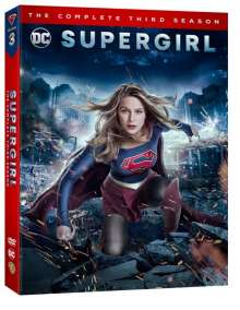 Supergirl Season 3 (UK Import), 4 DVDs
