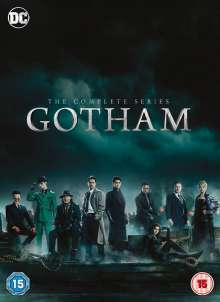 Gotham Season 1-5 (UK Import), 6 DVDs