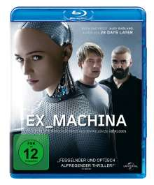 Ex_Machina (Blu-ray), Blu-ray Disc