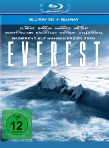 Everest (3D & 2D Blu-ray), 2 Blu-ray Discs