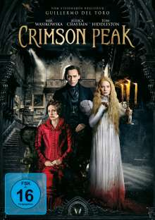 Crimson Peak, DVD