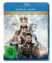The Huntsman & The Ice Queen (3D & 2D Blu-ray), Blu-ray Disc