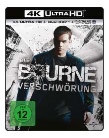Die Bourne Verschwörung (Ultra HD Blu-ray & Blu-ray), 1 Ultra HD Blu-ray und 1 Blu-ray Disc