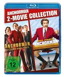 Anchorman 1 & 2 (Blu-ray), 2 Blu-ray Discs
