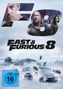 Fast & Furious 8, DVD
