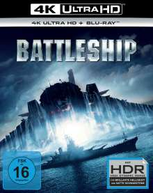 Battleship (Ultra HD Blu-ray & Blu-ray), 1 Ultra HD Blu-ray und 1 Blu-ray Disc