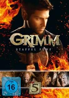 Grimm Staffel 5, 5 DVDs