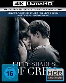 Fifty Shades of Grey (Ultra HD Blu-ray & Blu-ray), 1 Ultra HD Blu-ray und 1 Blu-ray Disc
