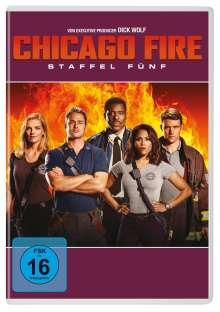 Chicago Fire Staffel 5, 6 DVDs
