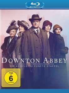 Downton Abbey Staffel 5 (neues Artwork) (Blu-ray), 3 Blu-ray Discs