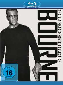 Bourne - The Ultimate 5-Movie Collection (Blu-ray), 5 Blu-ray Discs