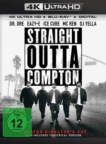 Straight Outta Compton (Director's Cut) (Ultra HD Blu-ray & Blu-ray), 1 Ultra HD Blu-ray und 1 Blu-ray Disc