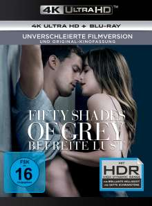 Fifty Shades of Grey 3 - Befreite Lust (Ultra HD Blu-ray & Blu-ray), 1 Ultra HD Blu-ray und 1 Blu-ray Disc