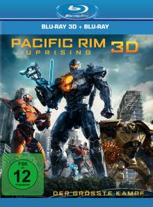 Pacific Rim: Uprising (3D & 2D Blu-ray), 2 Blu-ray Discs