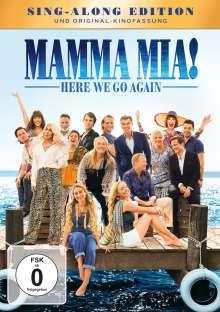 Mamma Mia! Here we go again, DVD