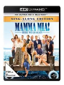 Mamma Mia! Here we go again (Ultra HD Blu-ray & Blu-ray), 1 Ultra HD Blu-ray und 1 Blu-ray Disc