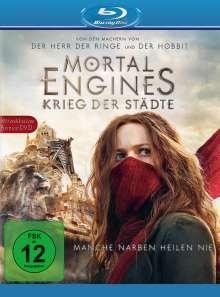 Mortal Engines: Krieg der Städte (Blu-ray), 1 Blu-ray Disc und 1 DVD