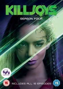 Killjoys Season 4 (UK Import), 3 DVDs