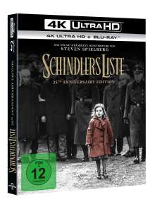 Schindlers Liste (25th Anniversary Edition) (Ultra HD Blu-ray & Blu-ray), 1 Ultra HD Blu-ray und 1 Blu-ray Disc