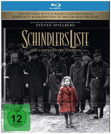 Schindlers Liste (25th Anniversary Edition) (Blu-ray), Blu-ray Disc