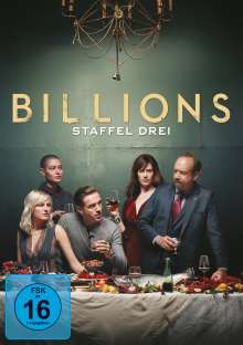 Billions Season 3, 4 DVDs