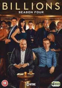 Billions Seasons 4 (UK Import), 4 DVDs