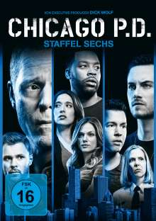 Chicago P. D. Season 6, 6 DVDs