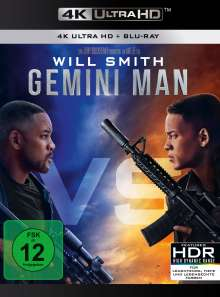 Gemini Man (Ultra HD Blu-ray & Blu-ray), 1 Ultra HD Blu-ray und 1 Blu-ray Disc