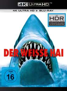 Der weiße Hai (45th Anniversary Limited Edition) (Ultra HD Blu-ray & Blu-ray), 1 Ultra HD Blu-ray und 1 Blu-ray Disc