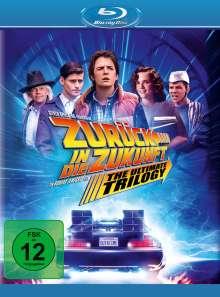 Zurück in die Zukunft I-III (Blu-ray), 4 Blu-ray Discs