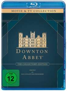 Downton Abbey (Collector's Edition) (Komplette Serie inkl. Film) (Blu-ray), 21 Blu-ray Discs