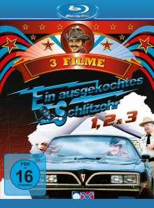 Ein ausgekochtes Schlitzohr 1-3 (Blu-ray), 3 Blu-ray Discs