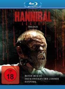 Hannibal Lecter Trilogie (Das Schweigen der Lämmer / Hannibal / Roter Drache) (Blu-ray), 3 Blu-ray Discs
