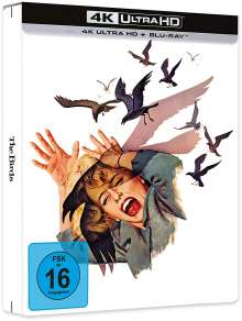 Die Vögel (Ultra HD Blu-ray & Blu-ray im Steelbook), 1 Ultra HD Blu-ray und 1 Blu-ray Disc