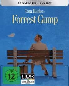 Forrest Gump (Ultra HD Blu-ray & Blu-ray im Steelbook), 1 Ultra HD Blu-ray und 2 Blu-ray Discs