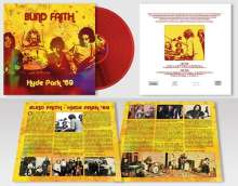 Blind Faith: Hyde Park '69 (180g) (Limited Handnumbered Edition) (Red Vinyl), LP